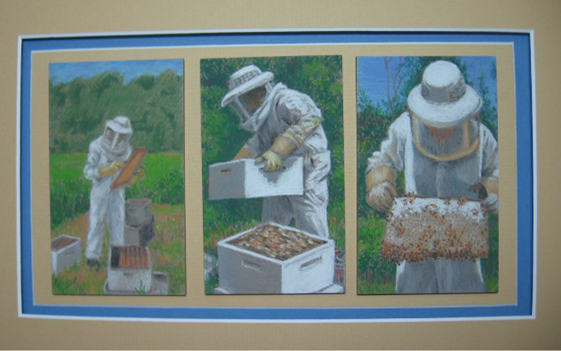 Reid, Joan, David & His Bees